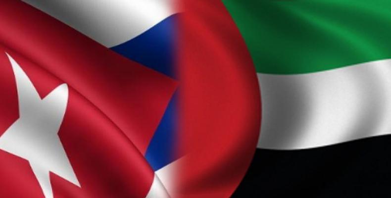 Ministra de Cooperação Internacional dos Emirados Árabes Unidos visita Cuba.
