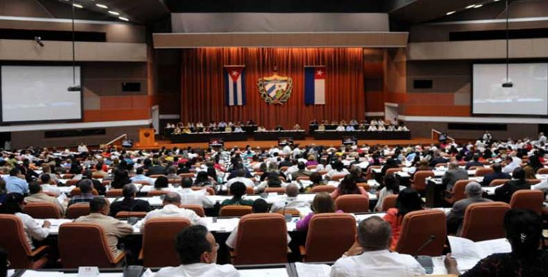 Cuban lawmakers debated the draft constitution on Friday. PL Photo