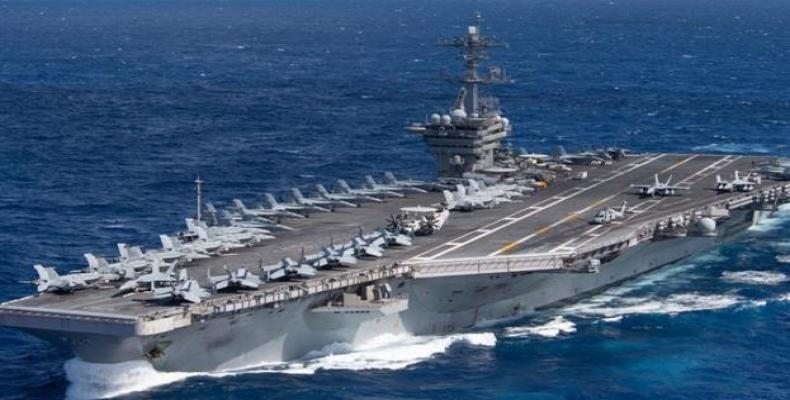 File photo of USS Theodore Roosevelt aircraft carrier. (Photo: EFE)