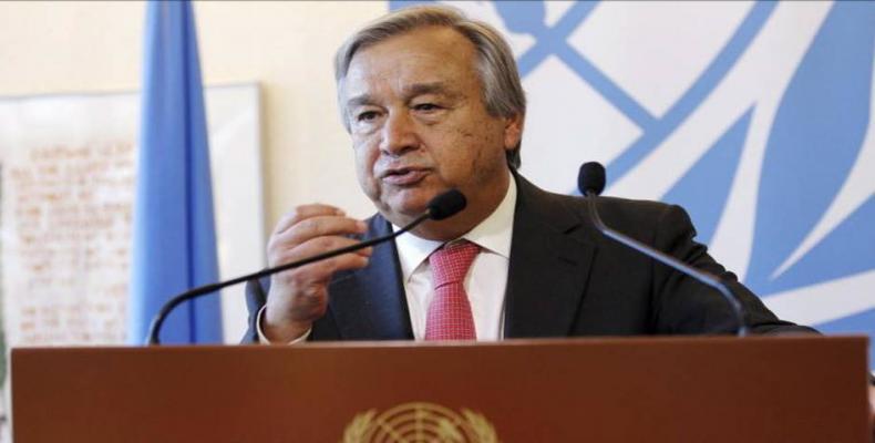 Secretário-geral da ONU chama ao diálogo para resolver conflitos no mundo.