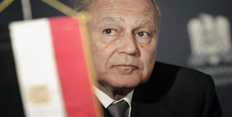 Arab League Chief Ahmed Abul Gheit