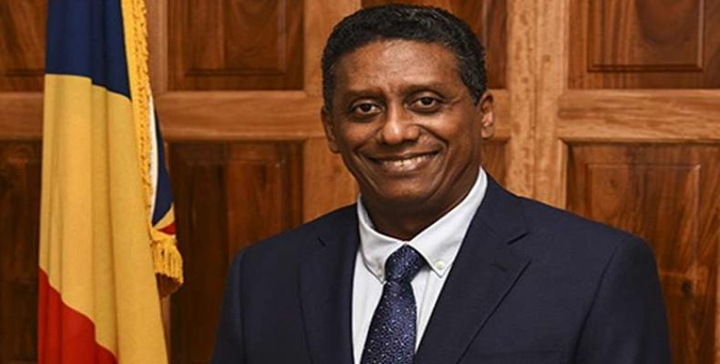 President of the Republic of Seychelles Danny Faure