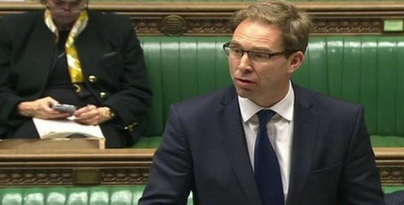 Tobias Ellwood, British Minister for the Middle East