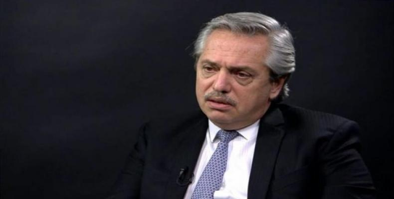 Progressive candidate Alberto Fernandez.  (Photo: Reuters)