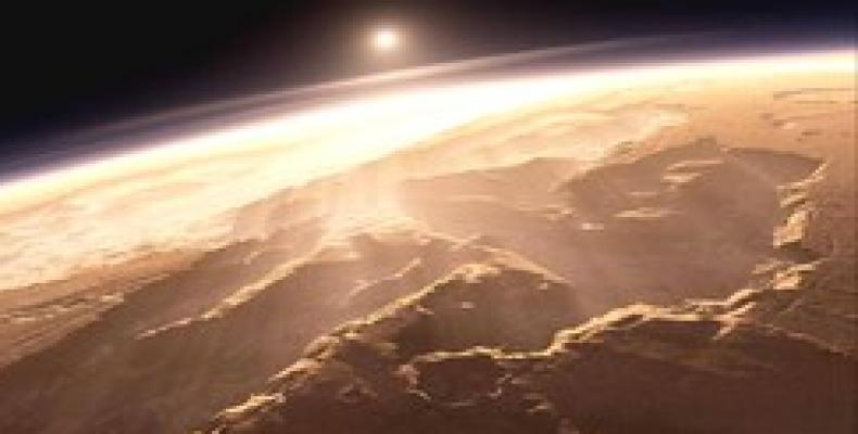 Imagen del planeta Marte. (NASA)