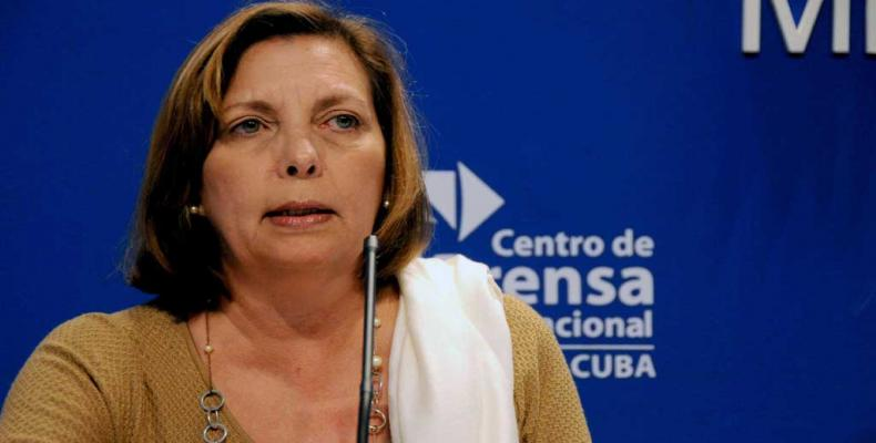 Cuba's ambassador to Canada, Josefina Vidal.   Photo: MINREX