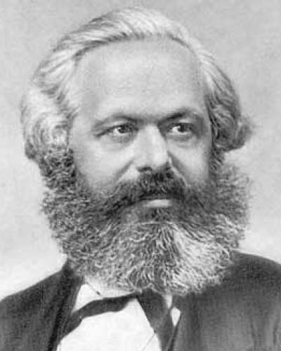 Carlos Marx empezó por desarrollar su concepción crítica de la filosofía alemana clásica.