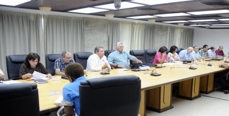 Miguel Díaz-Canel, destacou as opções de lazer oferecidas à população durante as férias de verão em julho e agosto.