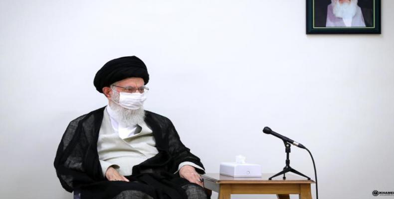 La ajatolo Seyed Ali Jamenei de Irano