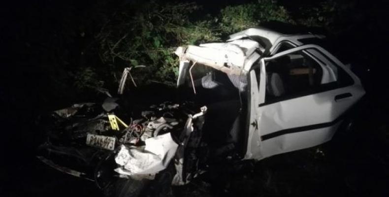 Mueren seis personas en accidente de tránsito en Villa Clara.Foto:Abel Falcón