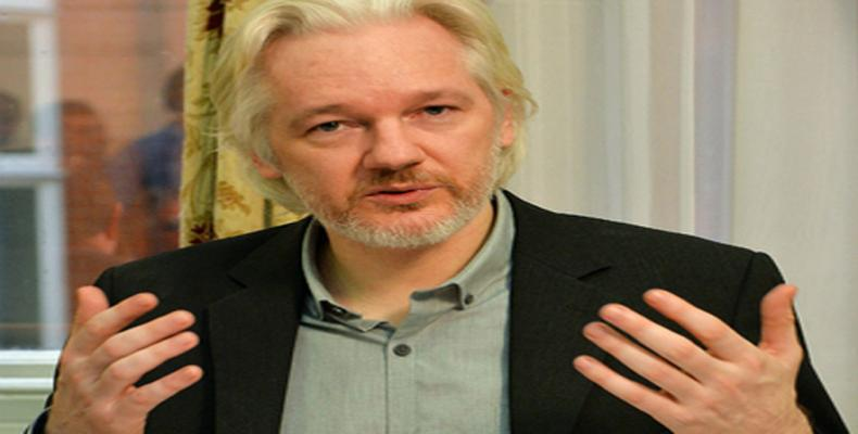 Periodista e informático australiano, Julian Assange