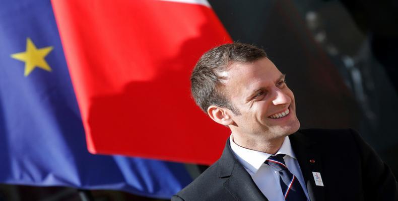 Presidente de Francia, Emmauel Macron