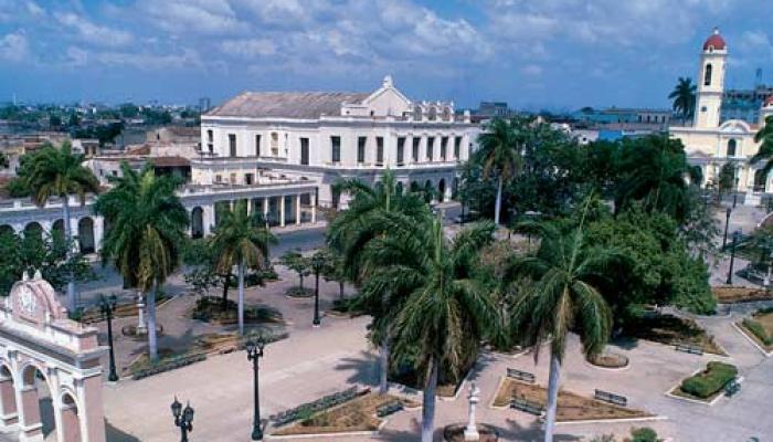 Centro de la ciudad cubana de Cienfuegos