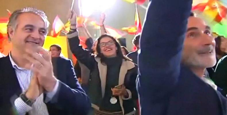 Right-wing party in Andalusia makes gains.  Photo: EFE