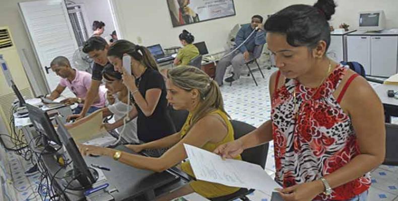 Los educandos pueden conocer mejor el funcionamiento del sistema electoral cubano. Foto: Archivo