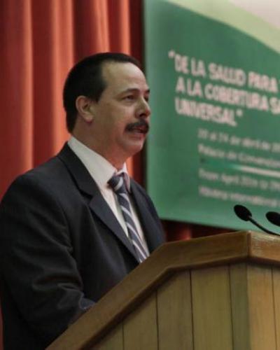 Viceministro de Salud Pública de Cuba, José Ángel Portal.Foto:Internet.