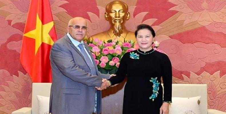 Cuba y Vietnam refuerzan relaciones de hermandad. Foto: PL