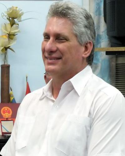Díaz-Canel es candidato a diputado a la ANPP por la provincia de Villa Clara. Foto: Archivo