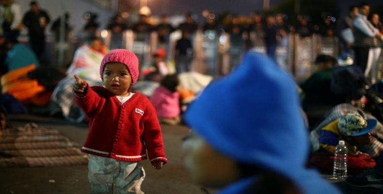 Thousands of children have been separated from their families and guardians at the U.S. / Mexico border this year alone.   Photo: Reuters