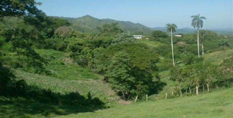 Escambray mountains in Villa Clara province