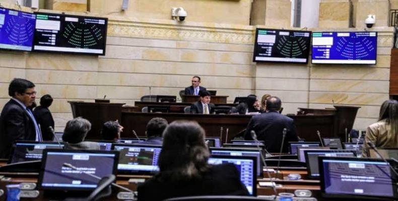 Senado colombiano