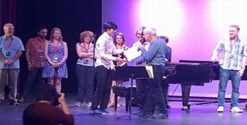 Rodrigo García awarded second prize at Amsterdam music competition