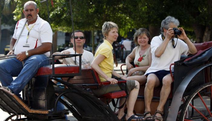 Cuba recebeu cerca de três milhões de turistas estrangeiros este ano. Foto:Archivo.