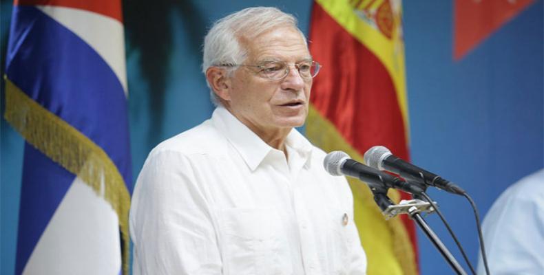 Canciller de España Josep Borrell Fontelles