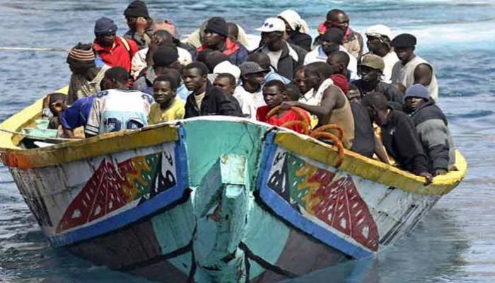 Inmigrantes arribando a las costas europeas