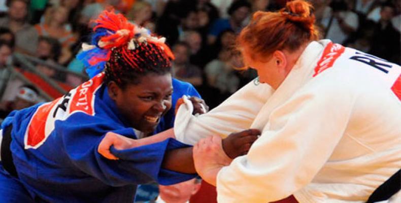 Idalis Ortiz en acción. Foto: archivo
