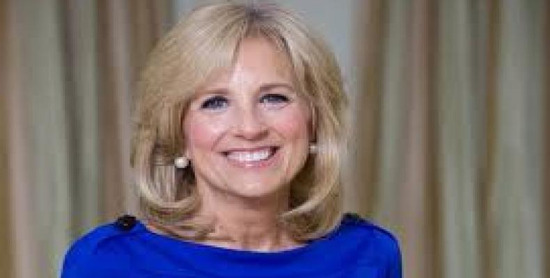 Jill Biden, esposa del vicepresidente norteamericano