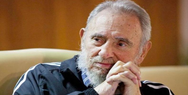 Líder Histórico de la Revolución Cubana,Fidel Castro.Foto:Archivo.