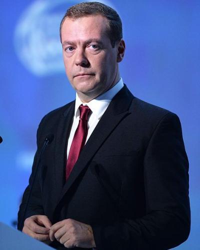 Medvédev. Foto tomada de Internet