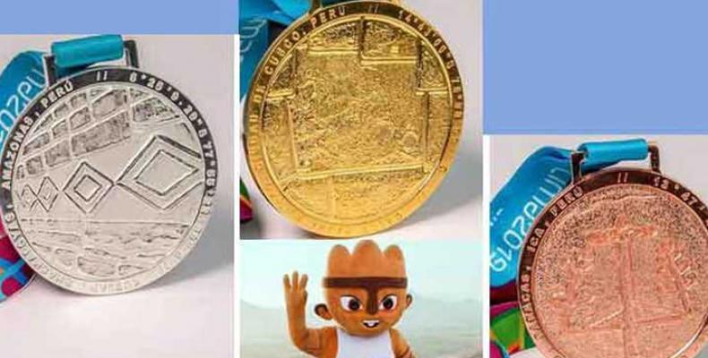 medallero de los Juegos Panamericanos de Lima 2019, Foto: PL