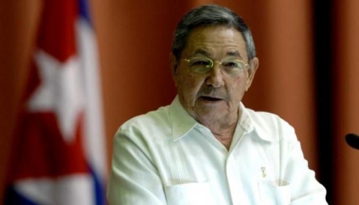 Raúl Castro, unua sekretario de la komunista partio