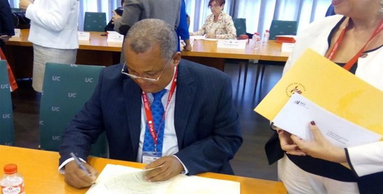 El encuentro ampliará los lazos de cooperación entre ambos países.Foto:Venceremos.