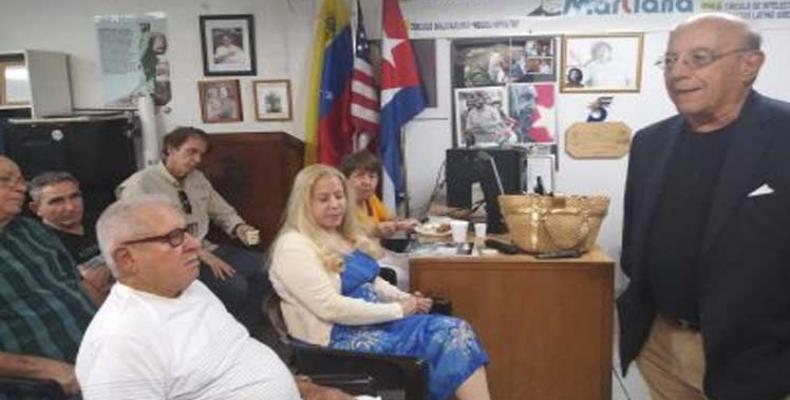 La Alianza Martiana rechaza la agresividad de Trump contra Cuba y Venezuela.Foto:Prensa Latina.