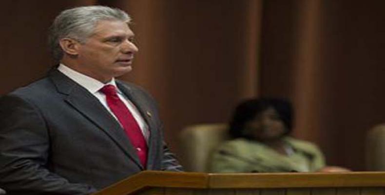 El mandatario cubano ratifica que Cuba es soberana e independiente. Foto: Archivo