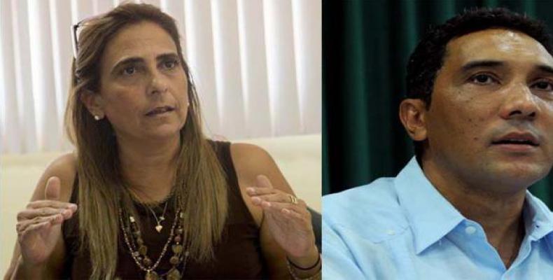 Meisi Bolaños Weiss and Eduardo Rodríguez Dávila