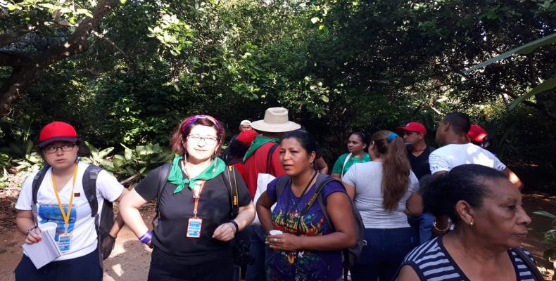 Los campesinos latinoamericanos visitaron fincas y cooperativas de las provincias Artemisa y Mayabeque.Fotos:Yuslaime Puig Rodríguez.RReloj.
