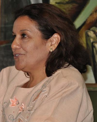 Ministra del Citma, Ciencia, Tecnología y Medio Ambiente de Cuba, Elba Rosa Pérez Montoya