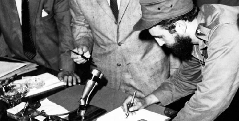 Desde ese cargo, Fidel lideró una nueva etapa revolucionaria en Cuba. Fotos: Internet