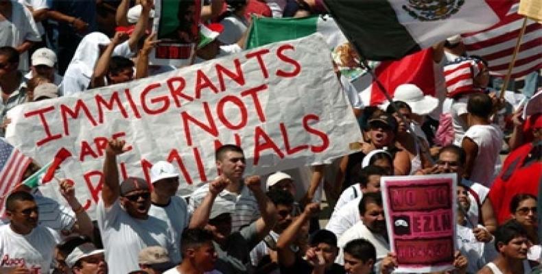 Mortensen se caracteriza por su frenética oposición a la entrada de inmigrantes a Estados Unidos. Foto: Archivo