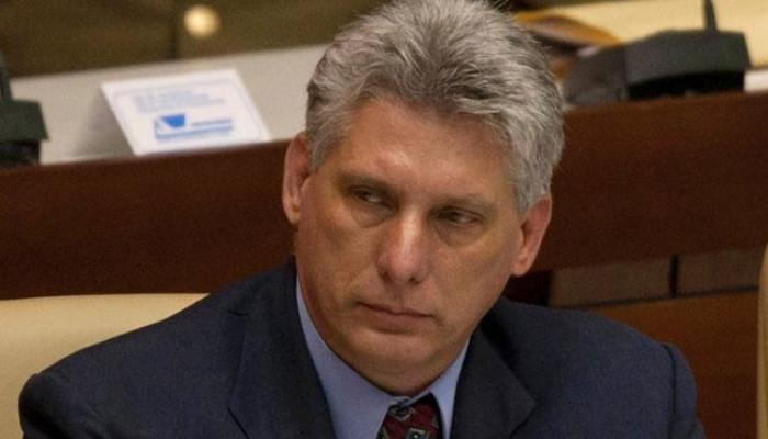 First Vice President Miguel Diaz-Canel
