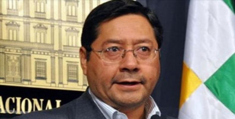 Candidato presidencial de Bolivia Luis Arce