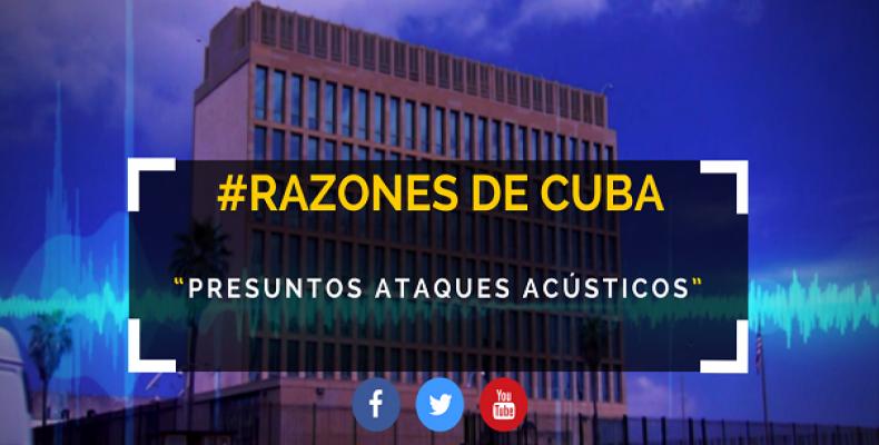Confirma Cuba que no existen evidencias de ataques acústicos a diplomáticos estadounidenses. Foto: Razones de Cuba