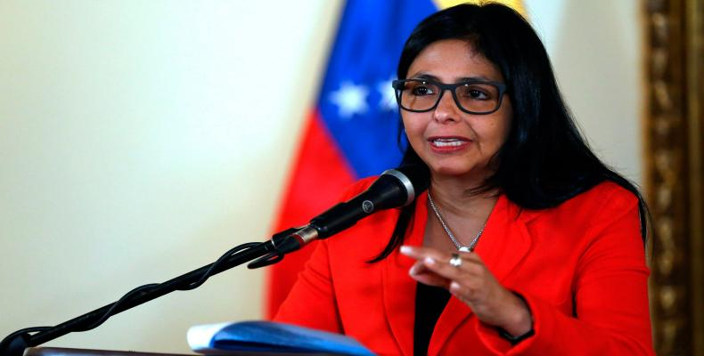 Delcy Rodríguez, vicepresidenta ejecutiva venezolana