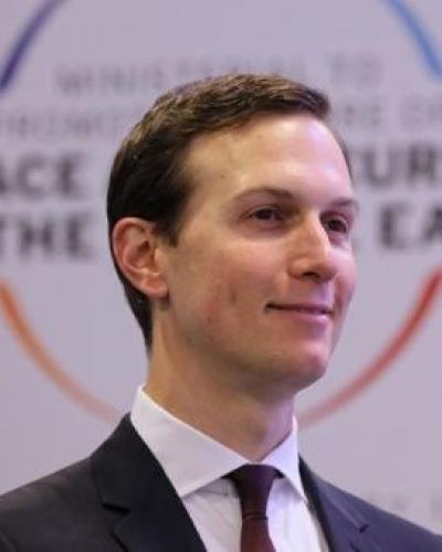 Donald trump´s son-in-law and senior adviser, Jared Kushner. File Photo
