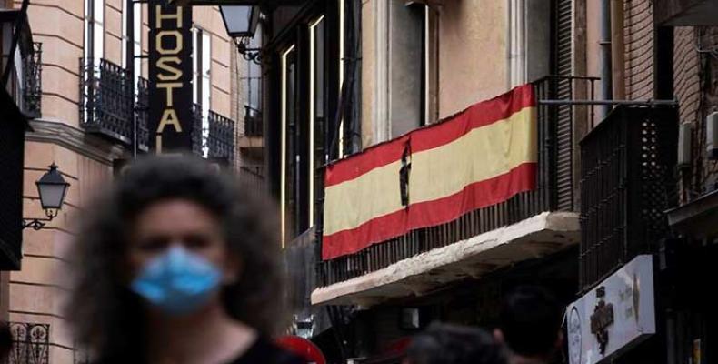 España comenzó este miércoles el luto oficial de 10 días en homenaje a las más de 27 mil víctimas mortales. Foto: PL.