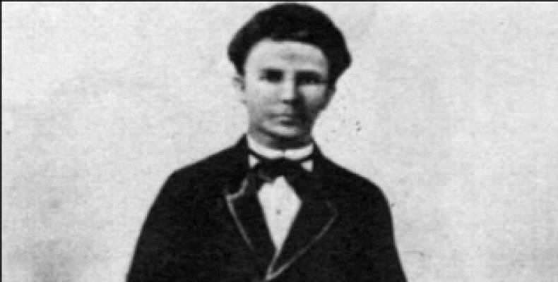 El joven José Martí no fue el mismo después de los acontecimientos del Villanueva. Foto: Internet